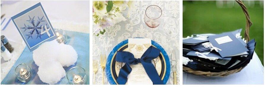 mavi renk düğün