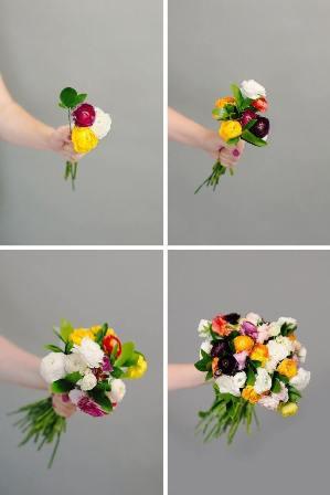 gelin çiçeği yapımı