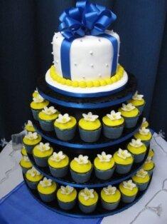 sarı laciver sünnet düğünü dekor
